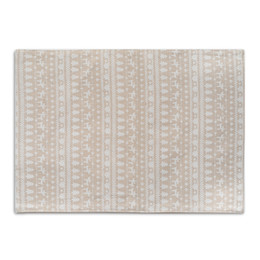 White Cotton Napkins UK - White Deer Christmas Meal Mats Napkin Table Mat Heat Insulation Mat Cotton Linen Meal Mat Photography Props