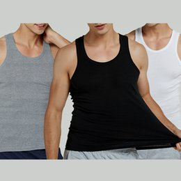 $enCountryForm.capitalKeyWord Australia - 2019 Brand Summer Mens Tank Tops Sleeveless Men Print Adi Fitness Tank Top Man Thread Sport Bottoming Hot Sale New Fashion