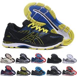 011cf0d4 ASICS 2019 Nuevo GEL-Nimbus 20 Estabilidad Zapatillas de correr  transpirables para hombres negro blanco azul rojo para hombre entrenador  deportes moda ...