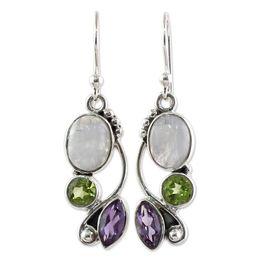 $enCountryForm.capitalKeyWord UK - 100% Brand New Multi Colored Zircon Earrings Ear Jewelry Natural Moonstone Earrings jewelry pendientes Gift Dropshipping