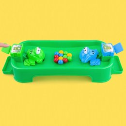 domino game toys NZ - Funny Hungry Frogs Educational Toy Creative Desktop Toy Interactive Game Beads Feeding Toy Child Gift Puzzle toys for children