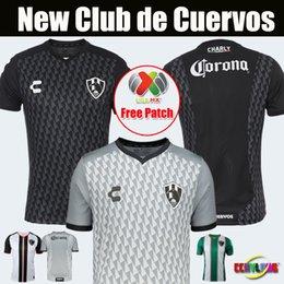 Новые Прибывшие Футбольные Трикотажные изделия Club de Cuervos 2018/2010 Мексика Club Home Black Away Серые Тигры Монтеррей Чивас 19/20 Футболки