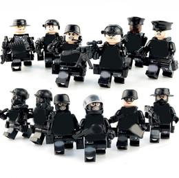$enCountryForm.capitalKeyWord Australia - 12pcs set Military Modern Guard Army Building Blocks Bricks Models Children Figures Toys Educational Toys Gift