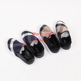 Brand Canvas Shoes UK - kids shoes New Brand girls boys fashion sneakers canvas shoes loafers Comfortable flats espadrilles shoes b-t1