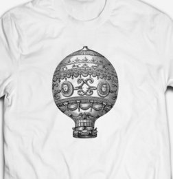Vintage style hoodies online shopping - COOL VINTAGE STEAMPUNK HOT AIR T shirt Style Round Style tshirt Tees Custom Jersey t shirt hoodie hip hop t shirt