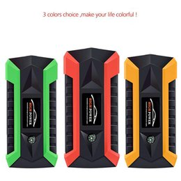 Wholesale new A Peak mAh V Portable Car Jump Starter car jumper booster power battery charge multifunction