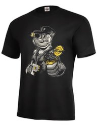 Chinese  Popeye Gangster T-shirt Hero Assorted Colors Best Seller MUST Adult Sizes S-5XL Men's Clothing T-Shirts Family Top Tees Men 100% Cotton manufacturers
