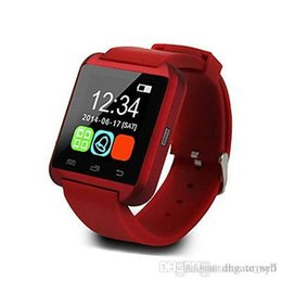 Smartwatch U8 Smart Watch Australia - Bluetooth Smartwatch U8 U Watch Smart Watch Wrist Watches for iPhone 8 8S 5 5S Samsung S8 S5 Note 9 Note 8 HTC Android Phone 2019