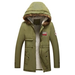 4xl men s parka 2020 - Parka Men Coats 2018 Winter Jacket Men Slim Thicken Fur Hooded Outwear Men's Coat Tops Warm Coat Top Brand Clothing