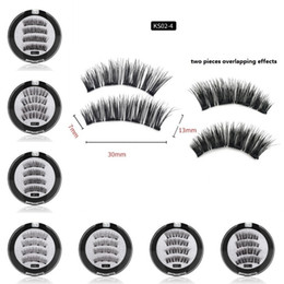 1f6ae81c4fc 3D Magnetic Eyelashes Natural False Eyelashes Extension Tools Magnets  Reusable 3D Magnetic Fake Eye Lashes with Gift Box