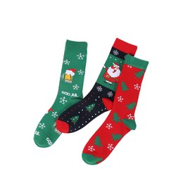 Hot box socks online shopping - 2019 Hot Sale Fashion Cartoon Socks Cotton Mid Tube Socks Styles Girls Women Winter Warm Stockings Xmas Gifts Christmas Decoration M813F