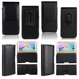 $enCountryForm.capitalKeyWord Australia - Belt Clip PU Leather Phone Case For for iPhone X 7 6s 8 Plus Samsung Galaxy J5 Prime A5 Waist Holster Kickstand Cover
