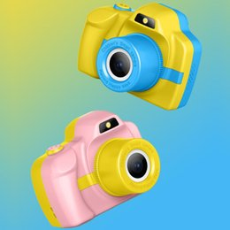 $enCountryForm.capitalKeyWord NZ - 2019 New P20 Kids Camera Mini Digital Camera Cute Cartoon 1080P Toddler Toys Children Birthday Gift 2 Inch Screen Cam for Kids