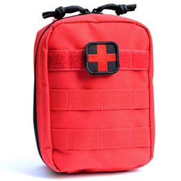 Patch Medical Australia - Outdoor Emergency First Aid Tactical Medical Packs Molle Tactical Utility IFAK Pack Medic Bag Red Cross Patch Included #324476