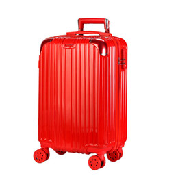 $enCountryForm.capitalKeyWord Australia - Superior2019 Trunk Bag North Lovers Universal Wheel Pull Rod Red 20 Record Chassis Password Travel Box 24 Inch