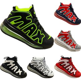 basketball shoes air Australia - With Box 2019 More Uptempo Drop Plastic Mid Top Breathable Basketball Boots Originals More Uptempo All Zoom Air Cushioning Jogger Shoes