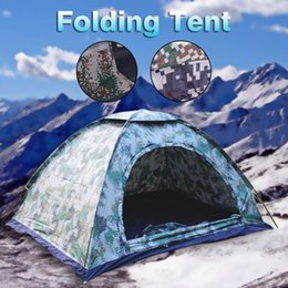 $enCountryForm.capitalKeyWord Australia - High Quality 2 Person Waterproof Oxford Cloth Single-layer Single-layer Camouflage Tent Outdoor Camping Portable