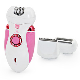 ladies body hair removal NZ - 3-in-1 Lady Rechargeable Cordless Hair Removal Body Facial Hair Epilator Trimmer EU Plug
