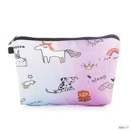 $enCountryForm.capitalKeyWord NZ - Miyahouse Unicorn Printed Women Make Up Pouch With Cheap Price Fashion Toiletries Organizer High Quality Travel Cosmetic Bag