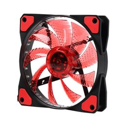 $enCountryForm.capitalKeyWord Australia - Led chassis fan 12cm vibration small seven color computer chassis fan 15 lights delivery on time