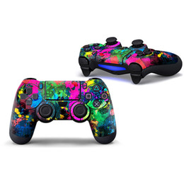 playstation controller skins Australia - Fanstore Skin Sticker Print Cover for Sony Playstation PS4 Remote Controller Hot Sale Design (1 piece)