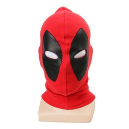 full face hood mask NZ - 1pcs Deadpool Masks Superhero Balaclava Halloween Cosplay Costume X Men Hats Headgear Party Neck Hood Full Face Mask