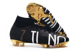 ronaldo shoes canvas NZ - Sale 2020 New Season Mercurial Superfly VI Soccer Shoes 360 Elite FG XII 12 CR7 SE Ronaldo Neymar Elite SE Football Boots Cleats