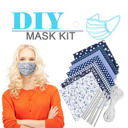 DIY homemade dust mask material mask elastic rope with ear rope nose bridge strip homemade mask material matching T3I5789 on Sale