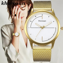 $enCountryForm.capitalKeyWord NZ - Hot style watches lady alloy mesh belt watches wholesale fashion students golden diamond men and women casual quartz watch