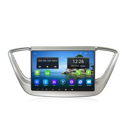 $enCountryForm.capitalKeyWord UK - Android 4G LTE HD 1080P car MP3 Music player excellent bluetooth multi-touch screen GPS for Hyundai verna solaris accent 2017-2019 9inch