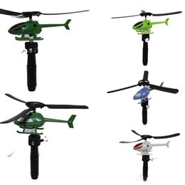 Helicopter Toys Australia - newHandle Pull The Plane Aviation Funny Cute High quality Outdoor Toys For Children Baby Play Gift Model Aircraft Helicopter