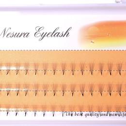 Individual False Eyelashes 14mm Australia - 1 Box New Silk Eyelashes 0.07 C 6d 8 9 10 11 12 13 14mm Wave Individual Eyelashes Extension Of Black Soft False Eye