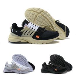 reputable site 11416 6d382 2019 Nike Air Max Presto Airmax White Prestos off V2 Shoes Ultra BR TP QS  Noir Blanc X Chaussures De Sport Pas Cher Coussin À Air Prestos Femmes  Hommes ...