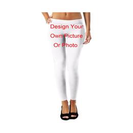 Custom Leggings Australia - LIASOSO 3D Print Diy Custom Men Women Design Own Picture   Photo   Star Singer Anime Sexy Tight Leggings Fitness Pants A000