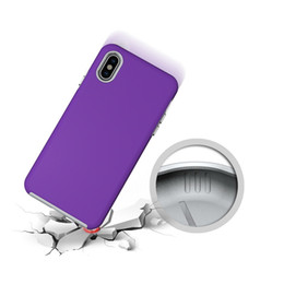 $enCountryForm.capitalKeyWord Australia - Rugged Rubber Shockproof Armor Case For iPhone X 9 XS Max 5 5S SE Hybrid 2in1 Anti-skid Back Cover For iPhone XS X 7 8 6 6S Plus