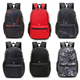 HOT Brand nk Fashion trends with high quality backpack Men's women Leisure student outdoor sport general 6colors backpack Shoulder Bags