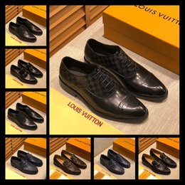 sexy wedding dresses men NZ - Mix 52 models Fashion Luxury 2020 Brands Men Dress Shoes Mens Design Dress Shoe Sexy Party Wedding Shoe Mens Luxury Sneakers