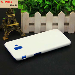 plastic sublimation NZ - For Samsung J6 Prime Sublimation 3D Phone Mobile Glossy Matte Case Heat press phone Cover