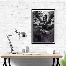 Hero Paintings Australia - Overwatchs Reaper Heroes Wall Art Canvas Poster And Print Canvas Painting Decorative Picture For Office Living Room Home Decor