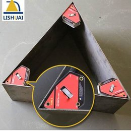 Angle Clamps Australia - New Product Single Switch Neodymium Magnet Welding Holder On Off Strong Magnetic Force Welding Magnet Multi-Angle Welding Clamp