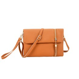 273accef5e Cheap Black Clutch Bags UK - Cheap Fashion Tassel leather handbags hotsale  women wedding clutches ladies