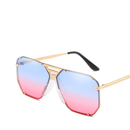 $enCountryForm.capitalKeyWord Australia - Women Fashion Square Sunglasses Metal Frame Ocean Color Gradient Shade Female Sunglasses Summer Outdoor Ladies Eyewear Glasses