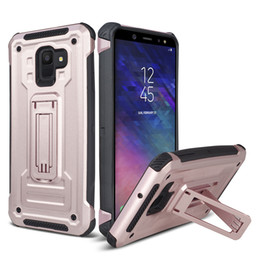 Cases for zte phones online shopping - Kickstand Phone Protective Case for Alcatel Folio X Evolve ZTE Z982 Sequoia Blade ZMax Pro Cover Back Hard Shockproof
