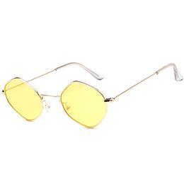 Top Designer Sunglasses Brands Australia - Top quality ladies polygon sunglasses brand designer sunglasses women fashion polygon frame mixed color sunglasses retro ladies glasses