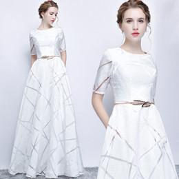$enCountryForm.capitalKeyWord Australia - Pearl white Evening Dresses 2019 African Saudi Arabia Formal Dress For Women Sheath Prom Gowns Celebrity Robe