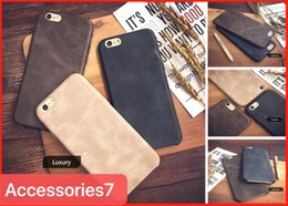 Thin Original Leather Cases For Iphone Australia - Hot Luxury Retro Matte Ultra-Thin Shockproof Genuine Original PU Leather Soft Back Phone Case Cover For iPhone 6 6S 7 8 Plus X 10 XR XS Max
