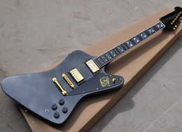 Body eBony online shopping - New arrival Black Metallic Electric Guitar with Gold Hardwares Ebony Fretboard with Abalone Inlay offering customized services