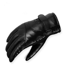 $enCountryForm.capitalKeyWord Australia - Men Non-slip sheepskin gloves genuine leather glove for winter Outdoor sports Keep warm fur thickening gloves