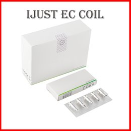 original ijust tank Australia - 100% Original iJust EC Head 0.3ohm 0.5ohm ECL 0.18ohm EC Ceramic Replacement Head Core Coils For iJust 2 Atomizer Melo 3 Tank