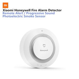 $enCountryForm.capitalKeyWord Australia - Xiaomi Mijia Honeywell Fire Alarm Detector Audible Visual Smoke Sensor Remote Mihome APP Smart ControlGas Smoke Alarm Detector